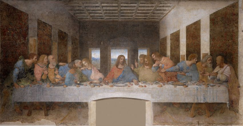 7 2 Leonardo da Vinci (1452 1519) The Last Supper (1495 1498)